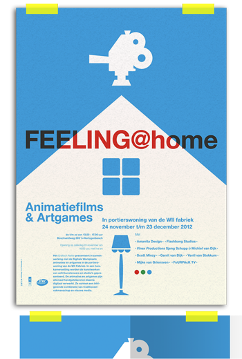 Feeling @home animatiefilms & artgames w2 den bosch